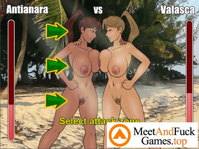 Amazon Island two girls making out