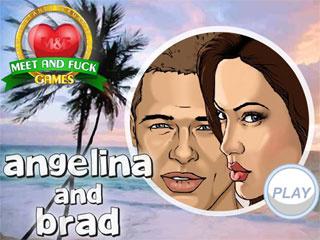 Angelina and Brad