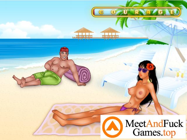 Beach Spy spy on her boobs