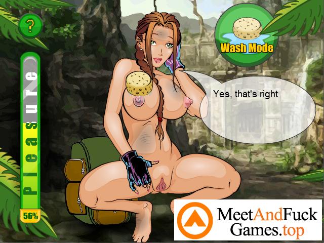 Busty Raider horny college girl