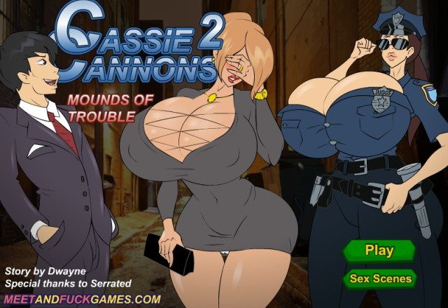 Cassie Cannons 2: Mounds of Trouble free porn game