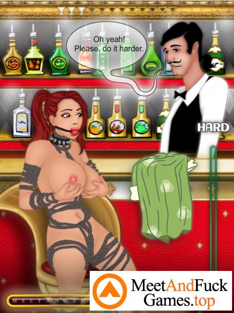 Cocktail Bar spanked and fucked hard