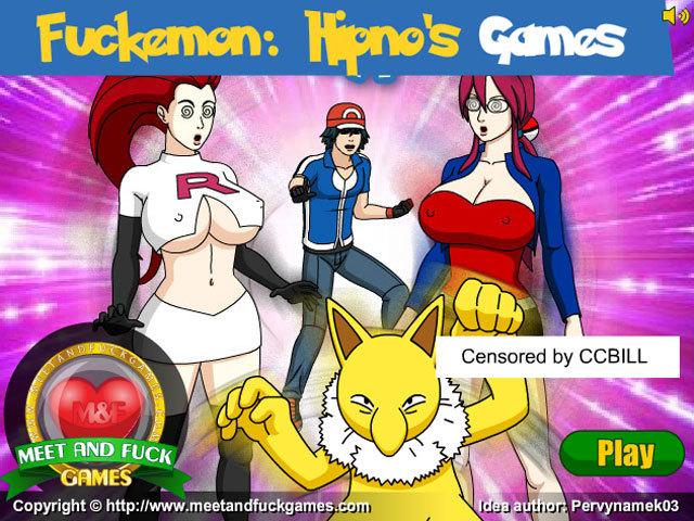 Fuckemon: Hipno Games free porn game