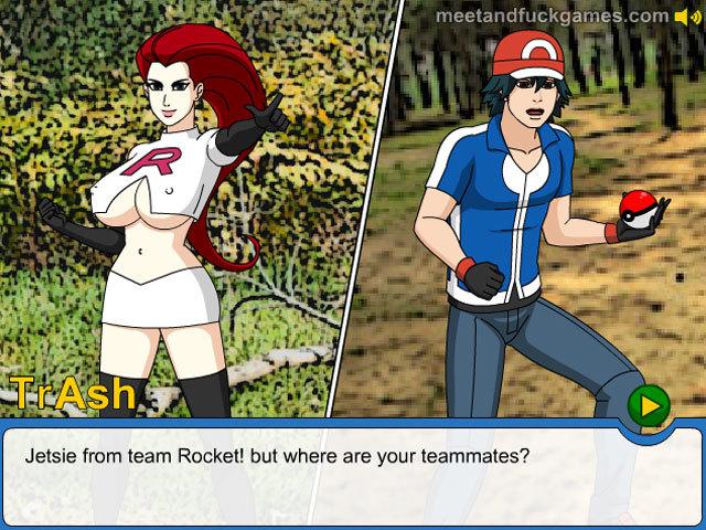 Fuckemon: Hipno Games online sex game