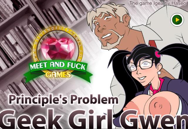 Geek Girl Gwen: Principles Problem free porn game