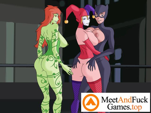 Gotham City Sluts lesbian way