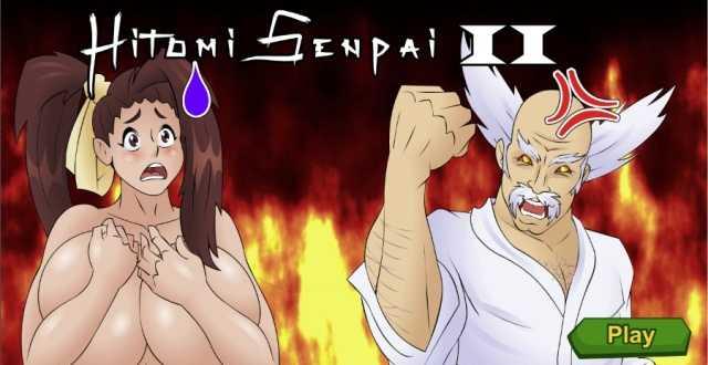 Hitomi Senpai 2 free porn game