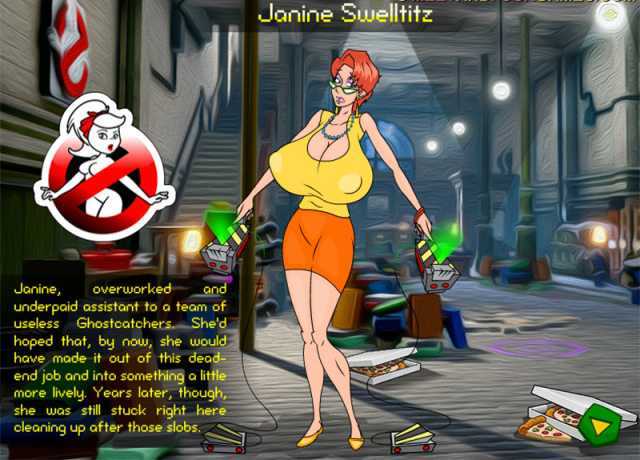 Janine Swelltitz in Ghostworld free porn game