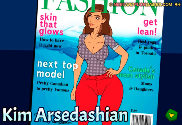 Kim Arsedashian free porn game