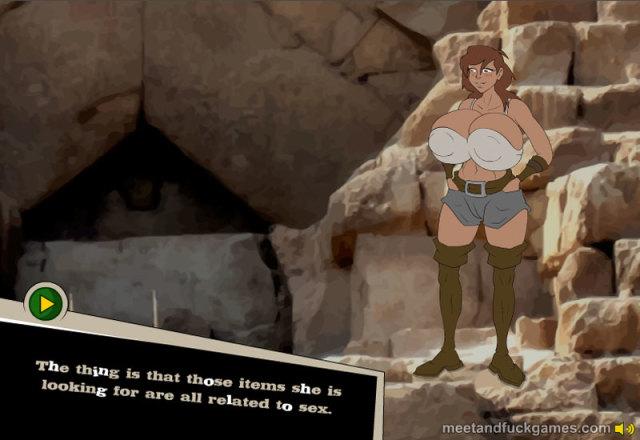 Leila Bomb Adventures online sex game