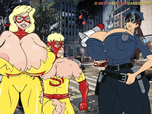 MNF Metropolis XXX Files: Armageddon free porn game