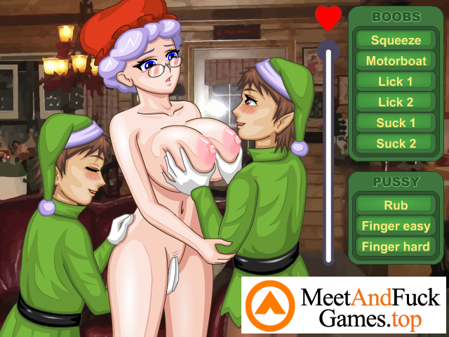 Mrs.Santa's Helpers Girl banged by 2 guys