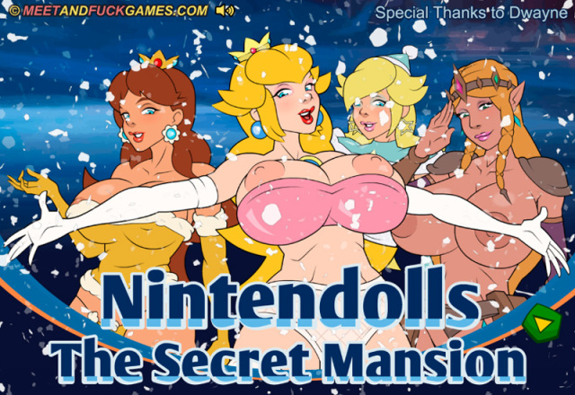 Nintendolls: The Secret Mansion free porn game