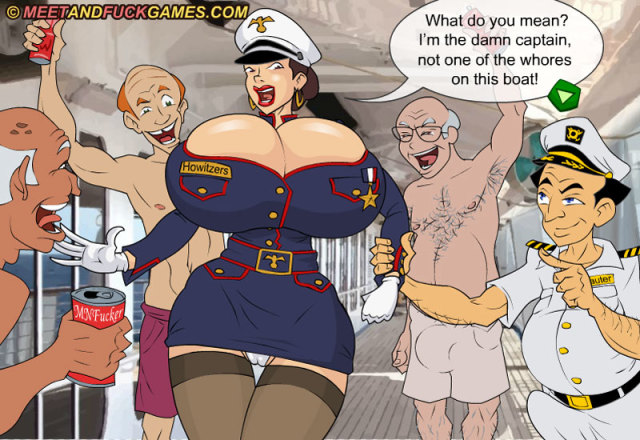 Officer Juggs: Lust for Sail play sex game
