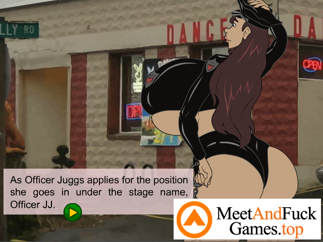 Officer Juggs: Undercover Whoppers free porn game