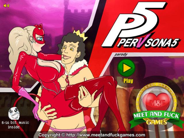 Pervsona 5 free porn game