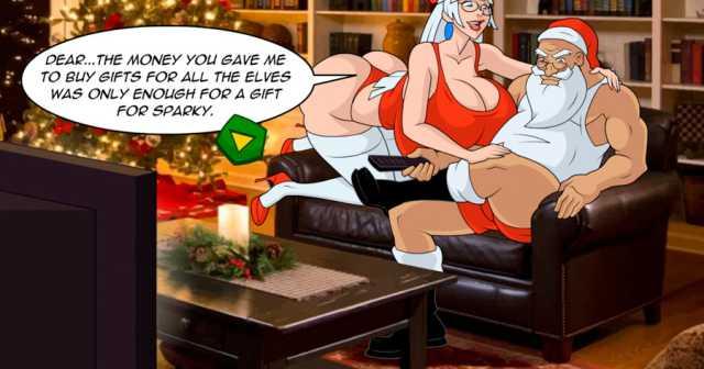 Santa Woos Lana Craft online sex game