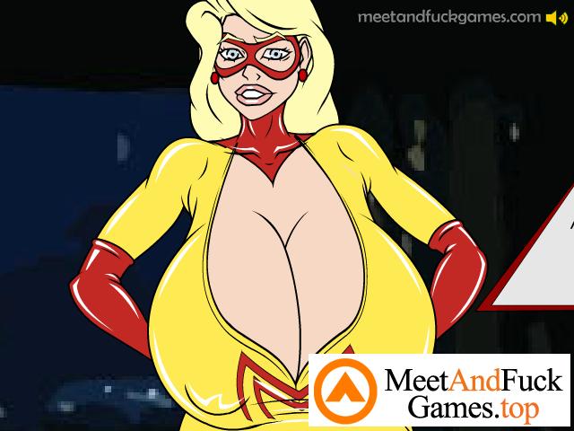 Super Heroine Hijinks naked superheroes