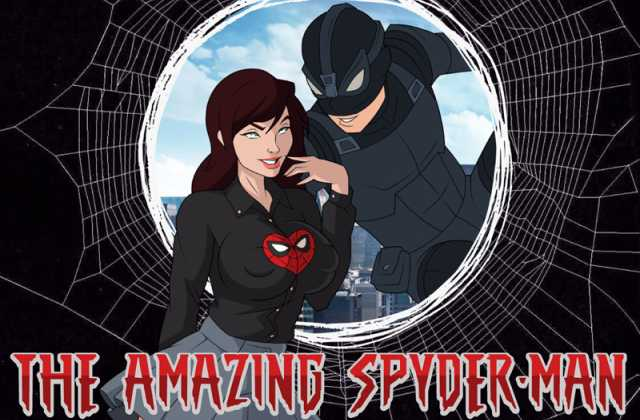 THE AMAZING SPYDER-MAN free porn game