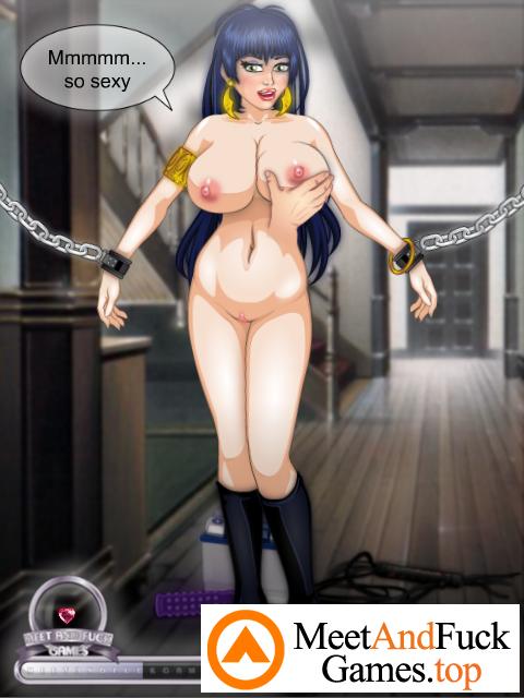 Vampirella BDSM Fetish with chains
