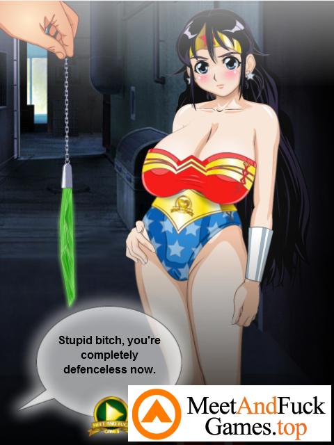 Wondergirl vs Robbers magical girl fucks